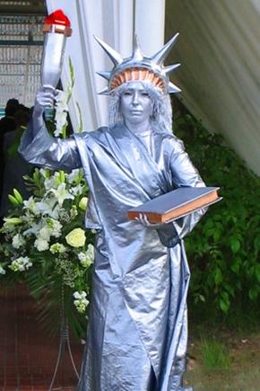 Живые статуи - фото №3