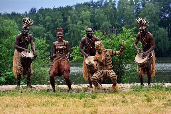 Африканское шоу - фото №1